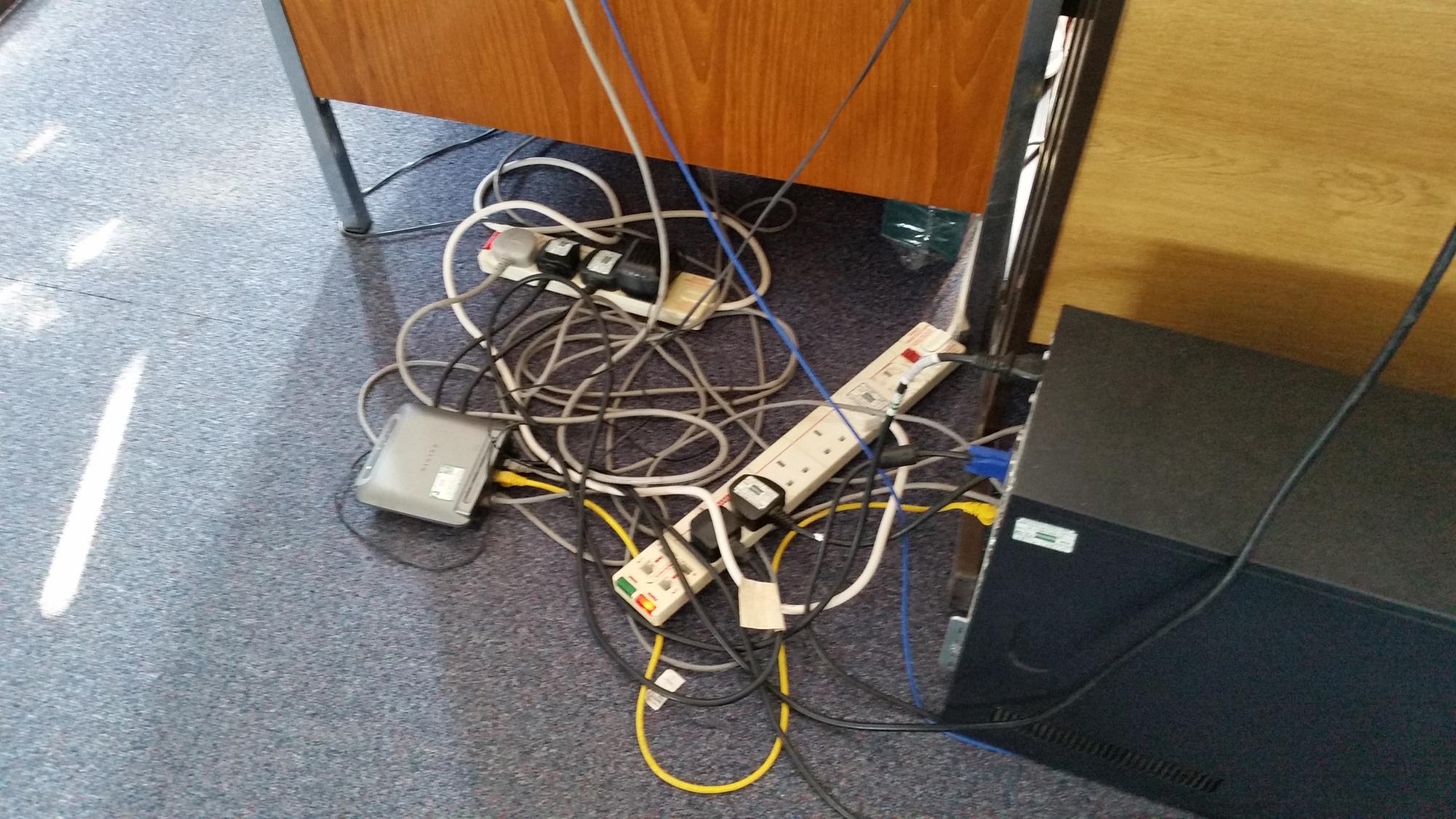 Dangerous Cabling