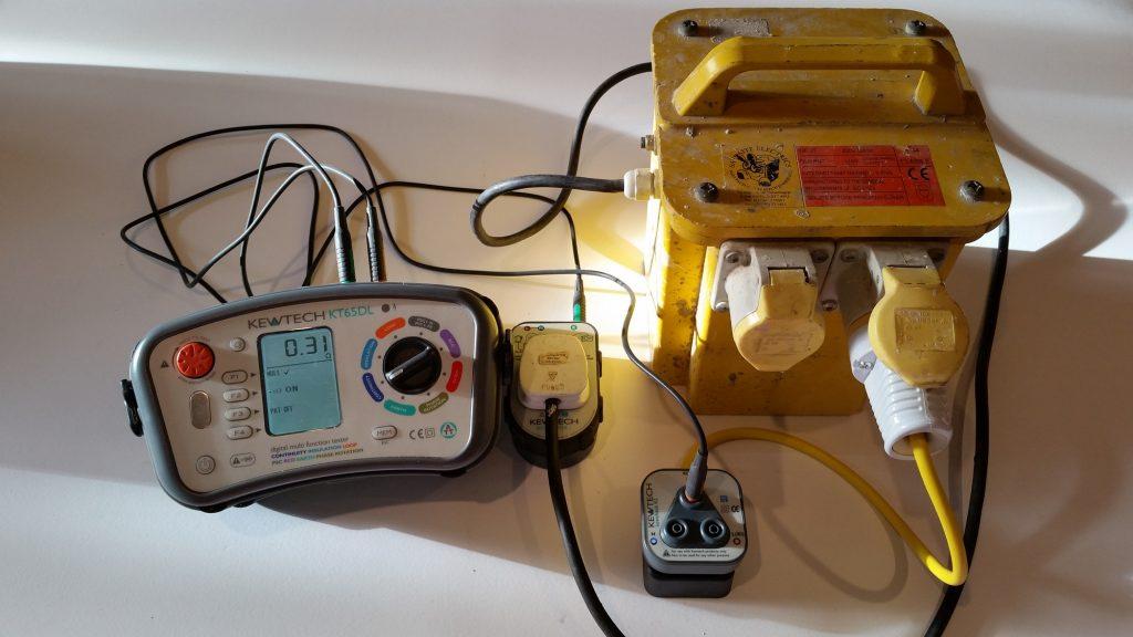 30 amp Transformer continuity PAT