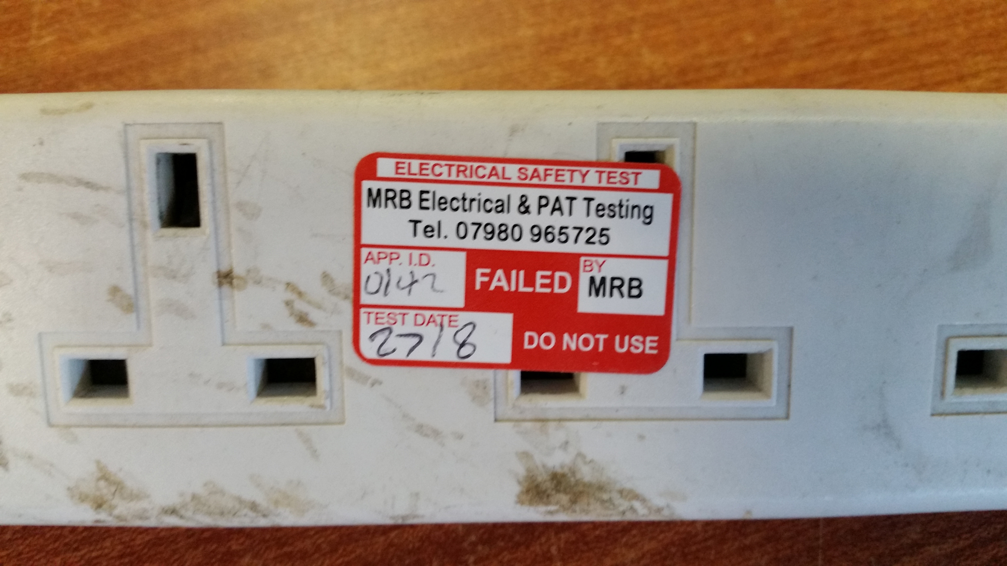Extension Lead PAT Testing